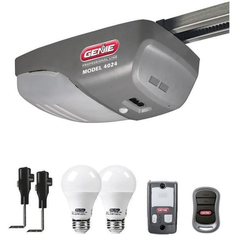 Genie IntelliG Pro Series Model 4024 Garage Door Opener With Genie Led Bulb - Wholesale Home Improvement Products