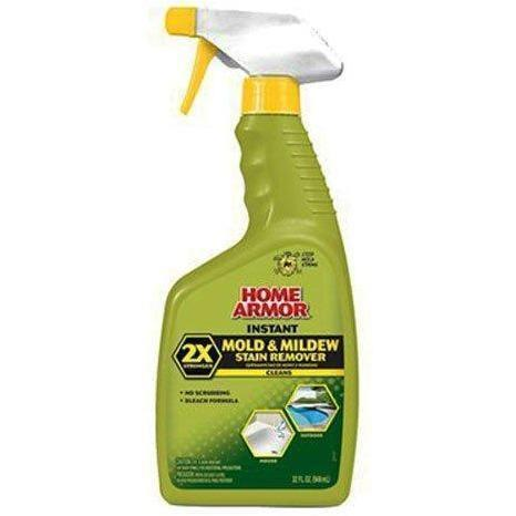 Home Armor - Instant Mold and Mildew Stain Remover, Trigger Spray, 32-Ounce - Wholesale Home Improvement Products