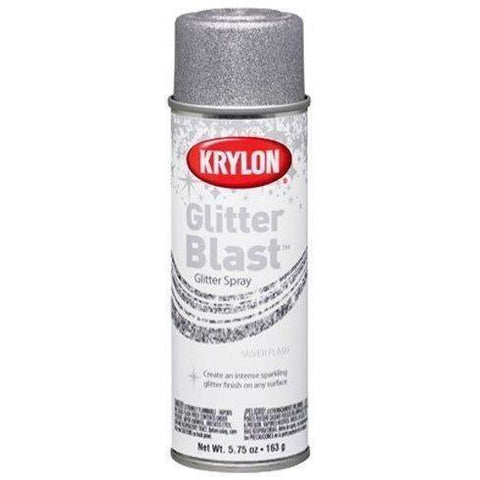 Krylon Glitter Blast, Silver Flash, 5.75 Ounce - Wholesale Home Improvement Products