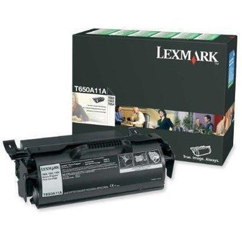 Lexmark T650A11A Black Print T65X Return Program  Toner Cartridge - Wholesale Home Improvement Products