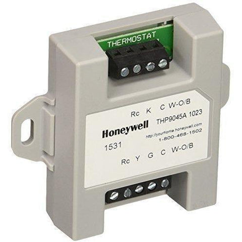 Honeywell - THP9045A1023 Wiresaver Wiring Module for Thermostat