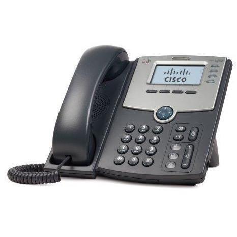Cisco SPA504G 4-Line IP Phone with 2-Port Switch, PoE and LCD Display, Silver, Grey - Wholesale Home Improvement Products