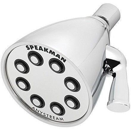 Speakman S-2251 Icon Anystream High Pressure Adjustable Shower Head, Polished Chrome - Wholesale Home Improvement Products