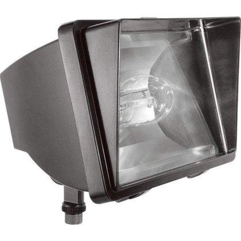 RAB Lighting FF70 HID Future Floodlight, 70W Power, 6400 Lumens, 120V, Bronze