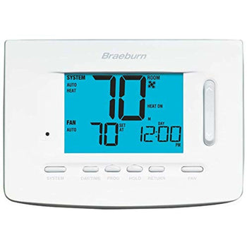 Braeburn 5220 - 7 Day Programmable Thermostat 3H/2C