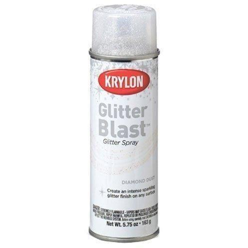 Krylon Glitter Blast, Diamond Dust, 5.75 Ounce