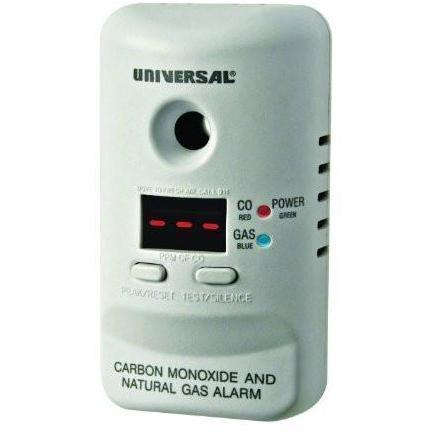 USI Electric - MCND401 Plug-In Carbon Monoxide and Natural Gas Alarm with 9-Volt Battery Backup - Wholesale Home Improvement Products