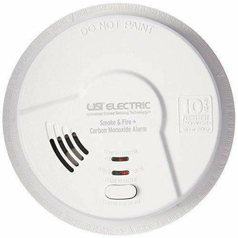 USI Electric MIC1509S Hardwired 3-in-1 Universal Smoke & Carbon Monoxide Alarm with 10-Year Sealed Battery - Wholesale Home Improvement Products