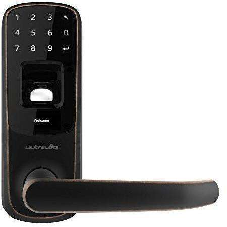 Ultraloq - UL3 BT Bluetooth Enabled Fingerprint and Touchscreen Keyless Smart Door Lock - Wholesale Home Improvement Products