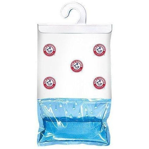 Arm & Hammer - Moisture Absorber & Max Odor Eliminator 16-oz Hanging Bags (2 Pack box) - Wholesale Home Improvement Products