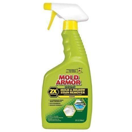 Home Armor - Instant Mold and Mildew Stain Remover, Trigger Spray, 32-Ounce