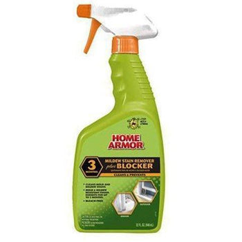Home Armor - Mildew Stain Remover Plus Blocker, Trigger Spray, 32-Ounce - Wholesale Home Improvement Products