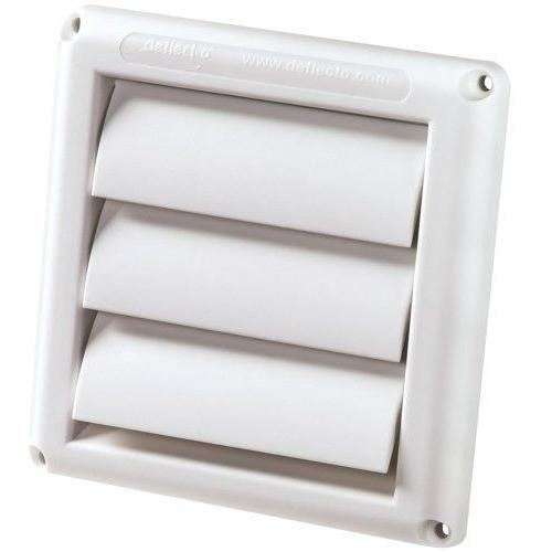 "Deflecto - HS4W - 4"" Fan Vent, White"