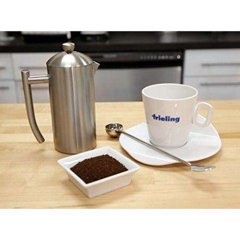 Frieling - Stainless Steel French Press Coffee Maker with Patented Dual Screen