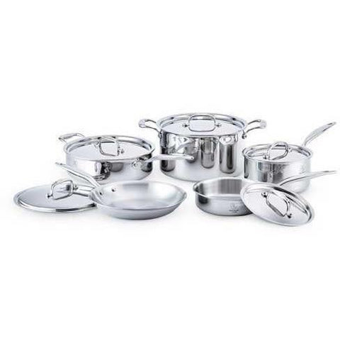 Hammer Stahl - 10 Piece Stainless Steel Cookware Set - Wholesale Home Improvement Products
