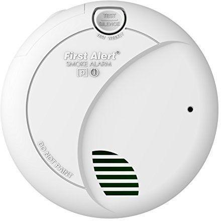 First Alert BRK 7010B Hardwire Smoke Alarm with Photoelectric Sensor and Battery Backup - Wholesale Home Improvement Products