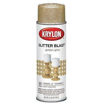 Krylon Glitter Blast, Golden Glow, 5.75 Ounce K03801A00 - Wholesale Home Improvement Products