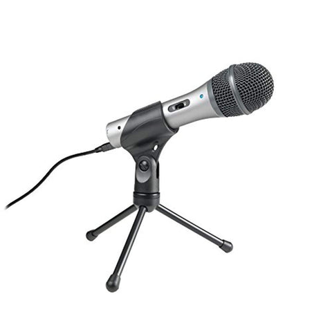 Audio-Technica ATR2100-USB Cardioid Dynamic USB/XLR Microphone - Wholesale Home Improvement Products