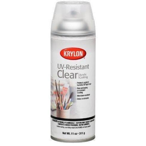 Krylon Gallery Series UV-Resistant Clear Gloss Aerosol Coating, 11-Ounce, K01305 - Wholesale Home Improvement Products
