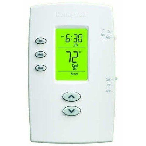 Honeywell - TH2110DV1008 PRO 2000 Vertical Programmable Thermostat
