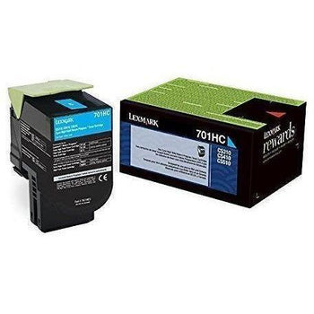 Lexmark 70C1H- Series High-Yield Color Return-Program Toners - Wholesale Home Improvement Products