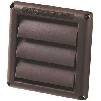 Deflecto HS6B 6' Inch Brown Vent Hood - Wholesale Home Improvement Products