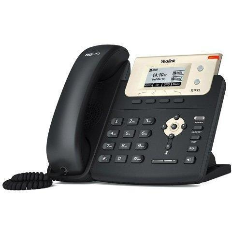 Yealink SIP-T21P E2 Entry Level IP Phone with PoE, Backlight