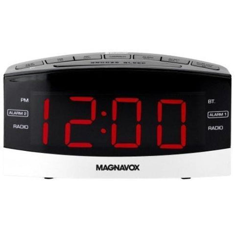 Magnavox MR41806BT Dual Alarm Digital Clock Radio - Wholesale Home Improvement Products