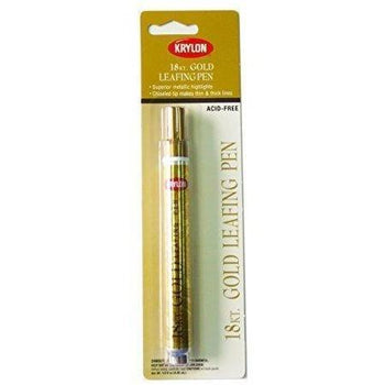 Krylon 18K Gold Leafing Pen, .33 Ounce K09901A00 - Wholesale Home Improvement Products