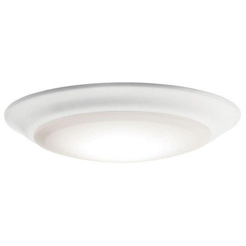 "Kichler - Downlight Gen I 7.5"" 3000K LED Flush Mount White - Wholesale Home Improvement Products"