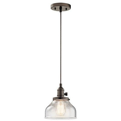 Kichler - Avery 1 Light Bell Mini Pendant Olde Bronze - Wholesale Home Improvement Products