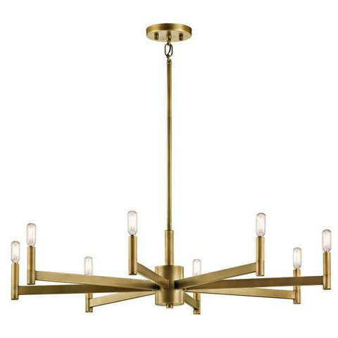Kichler - Erzo™ 8 Light Chandelier - Wholesale Home Improvement Products