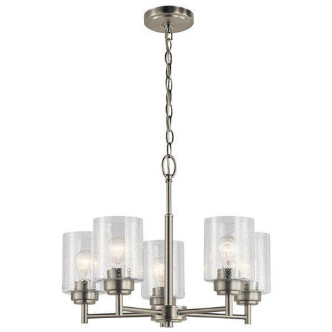 Kichler - Winslow™ 5 Light Chandelier Brushed Nickel - Wholesale Home Improvement Products