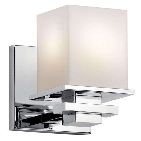 Kichler - Tully 1 Light Wall Sconce Chrome - Wholesale Home Improvement Products