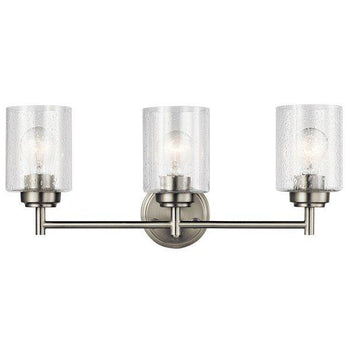Kichler - Winslow 3 Light Vanity Light Brushed Nickel - Wholesale Home Improvement Products