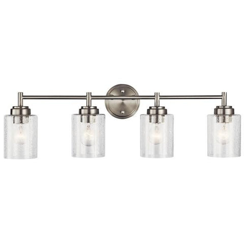 Kichler - Winslow 4 Light Vanity Light Brushed Nickel - Wholesale Home Improvement Products