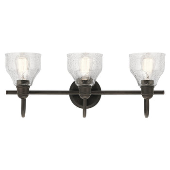 Kichler - Avery™ 3 Light Vanity Light Olde Bronze® - Wholesale Home Improvement Products