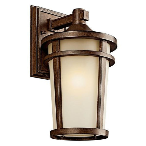 "Kichler - Atwood 14.25""1 Light Wall Light Brownstone - Wholesale Home Improvement Products"