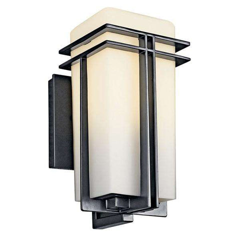 "Kichler - Tremillo 11.75"" 1 Light Wall Light Black - Wholesale Home Improvement Products"