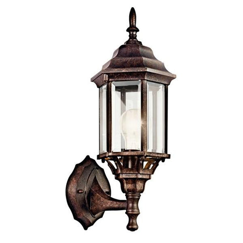 "Kichler - Chesapeake 17"" 1 Light Wall Light Tannery Bronze - Wholesale Home Improvement Products"