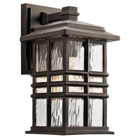 "Kichler - Beacon Square 12"" 1 Light Wall Light Olde Bronze - Wholesale Home Improvement Products"