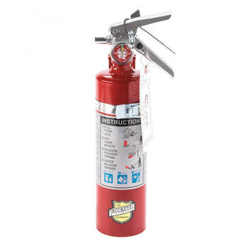 Buckeye - 13315 2.5 lb ABC Hand Held Dry Chemical Fire Extinguisher