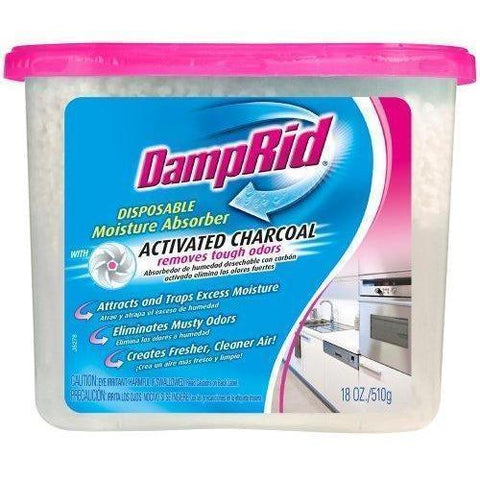 DampRid® Moisture Absorber With Activated Charcoal, 18-Ounce - Wholesale Home Improvement Products