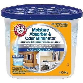 Arm & Hammer 14 Moisture Absorber & Max Odor Eliminator Tub, 14 oz - Wholesale Home Improvement Products