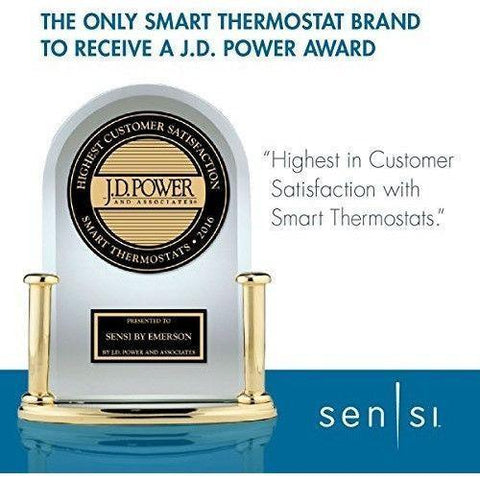 Emerson - Sensi Wi-Fi Thermostat 1F86U-42WF - Pro version - Wholesale Home Improvement Products