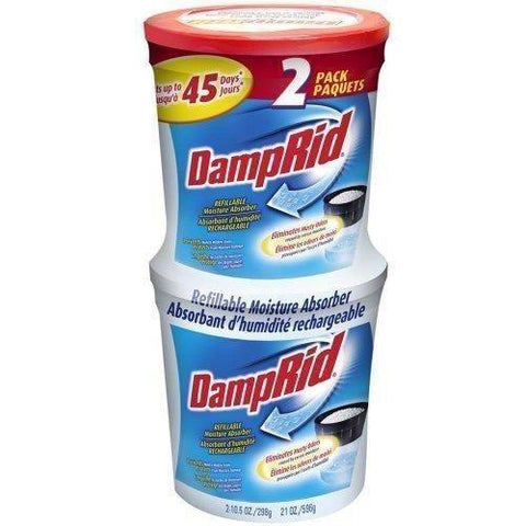 DampRid Refillable Moisture Absorber, 2-Pack - Wholesale Home Improvement Products