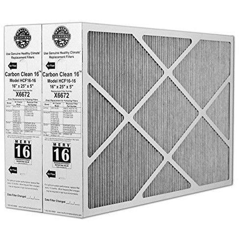 Lennox - X6672 Healthy Climate 16x25x5 Merv 16 Filter - Wholesale Home Improvement Products