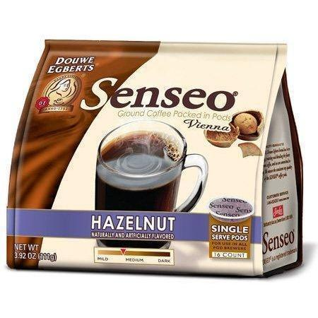 Senseo French Vanilla and Hazelnut Coffee Pods - 1 Pack Each - 32 Pods Total - Wholesale Home Improvement Products