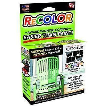 Wipe New - Rust-oleum R6PCRTLKIT Recolor Paint Restorer - Wholesale Home Improvement Products