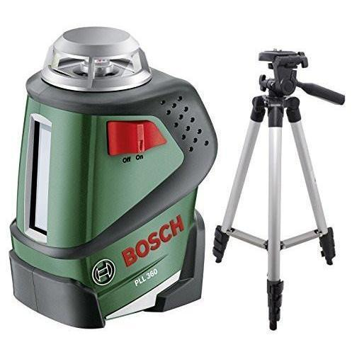 Bosch GLL 2-20 360-Degree Self-Leveling Line and Cross Laser (With Tripod Combo) - Wholesale Home Improvement Products